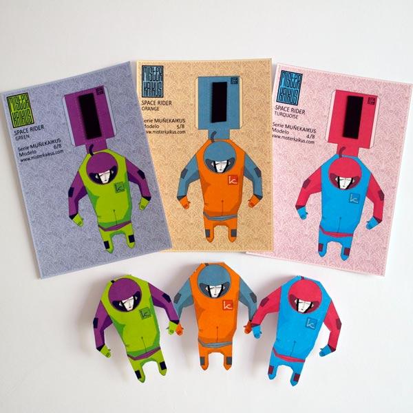 MUÑEKAIKUS Space Riders - Mister Kaikus