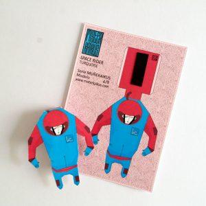MUÑEKAIKUS Space rider turquoise - Mister KAikus