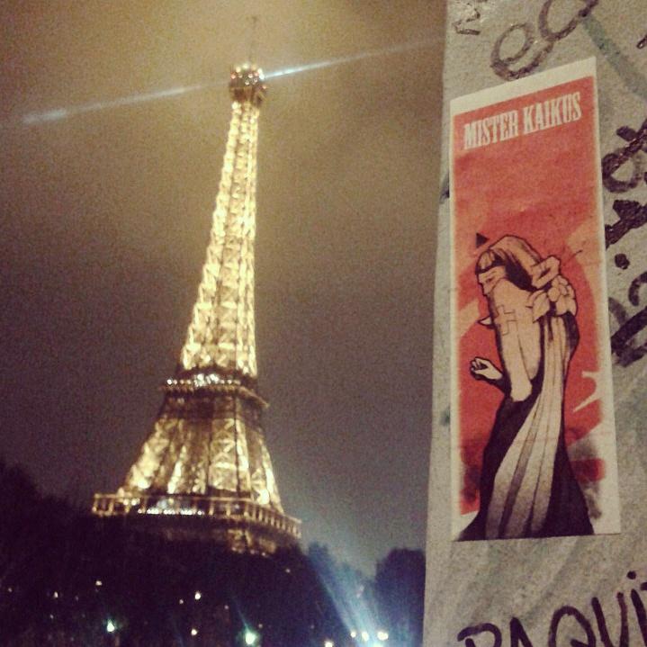 PARIS Mister Kaikus